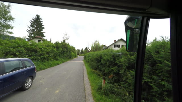 POV out of a Public Bus