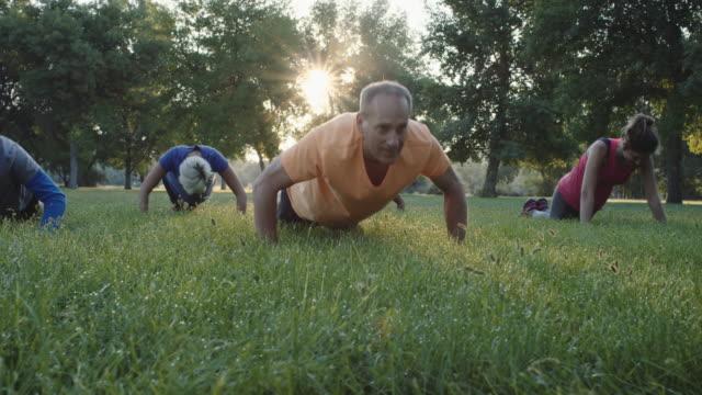 4K SLO MO: Outdoor Fitness