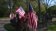 WGN Over 250 veterans and supporters walked from suburban Glencoe to the USS Memorial at Chicago's Navy Pier to raise awareness for the epidemic of...