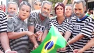 Over 400000 protesters demanded Brazilian President Dilma Rousseff's resignation Sunday blaming her and the leftist Workers' Party for runaway...