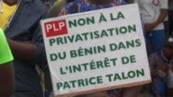 Over a thousand people take to the streets of Benin's economic capital of Cotonou to protest against President Patrice Talon amid growing unease with...