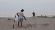 Over seven miles of pristine beaches make up oceanfront expanse of Southampton NY is seen July 2223 2017 Photographer Timothy Fadek Shots wide shot...