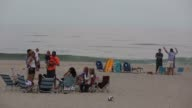 Over seven miles of pristine beaches make up oceanfront expanse of Southampton NY is seen July 2223 2017 Photographer Timothy Fadek Shots children...