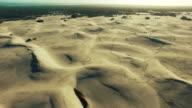 Over the Namibian desert