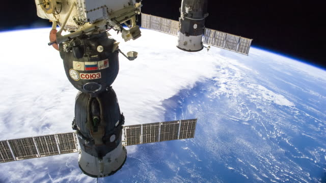 ISS Over the Philippine Sea - Timelapse