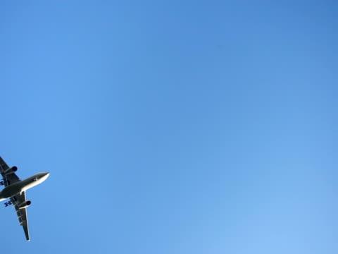 Overhead-Flugzeug