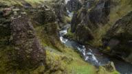 Met uitzicht op de canyon