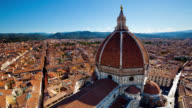 T/L HA Overlooking Florence and the Dome of the Basilica di Santa Maria del Fiore in the morning / Florence, Italy