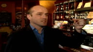 EU overrules plans for taxfree alcohol websites ENGLAND London David Ash interview SOT