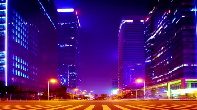 Überwältigend modernen Stadt.