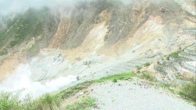 Owakudani, Volcanic Valley, Kanagawa, Japan