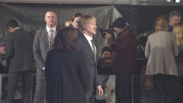 Owen Wilson at 'Zoolander 2' UK special screening at Empire Leicester Square on February 4 2016 in London England