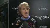 Owen Wilson in 'Zoolander No 2' Madrid fan screening