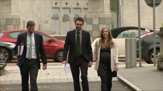 Owners of Belfast bakery lose appeal over gay marriage cake Via UTV Belfast EXT Daniel McArthur along with wife Amy McArthur Gareth Lee and Michael...