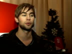 Oxford Street Christmas lights turned on / Chace Crawford Alexandra Burke Ruth Lorenzo and Sugababes interveiws / Stage performances INT Chace...