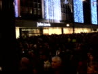 Oxford Street Christmas lights turned on / Chace Crawford Alexandra Burke Ruth Lorenzo and Sugababes interveiws / Stage performances General views of...