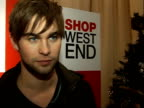Oxford Street Christmas lights turned on / Chace Crawford Alexandra Burke Ruth Lorenzo and Sugababes interveiws / Stage performances His relationship...