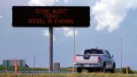 Ozone Alert Highway Sign HD