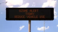 Ozone Highway Sign