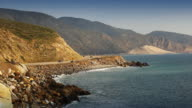Pacific Coast Highway-Strand in Süd-Kalifornien