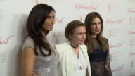 Padma Lakshmi Lena Dunham and Allison Williams at 8th Annual Blossom Ball To Benefit The Endometriosis Foundation Of America at Pier Sixty at Chelsea...