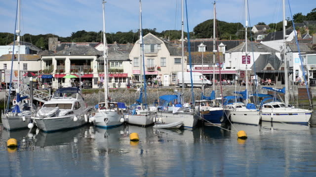 Padstow Harbour, Cornwall, UK.