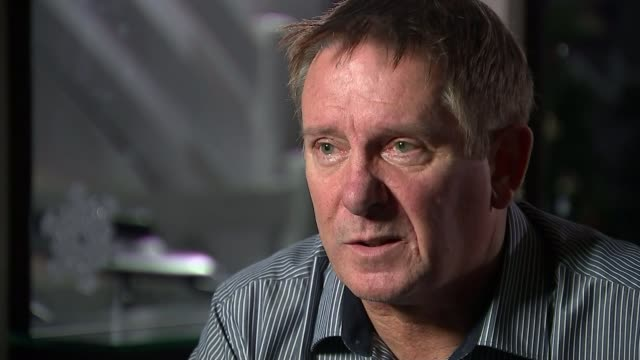 Paedophile football coach Barry Bennell in hospital after being found unconscious Yan Nowacki interview SOT CUTAWAY reporter