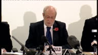 Child sex abuse press conference Jim Gould press conference continued SOT The OFSTED inspection framework makes no contact with local services such...