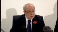 Child sex abuse press conference Jim Gould press conference continued SOT The report we're publishing today was sent to OFSTED and is required for...