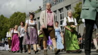 pageant on a typical German traditional fair called 'Schuetzenfest'