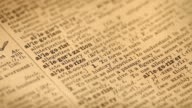 Pages of the Dictionary