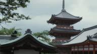 MS Pagoda at Kiyomizu-dera temple, Kyoto, Japan