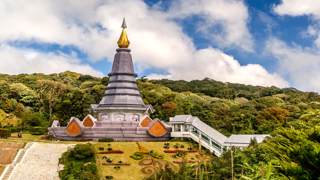 Pagode in Doi Inthanon, Thailand.