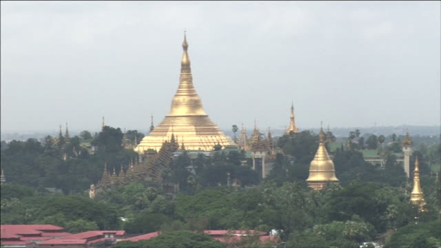 Pagoda Temple In Myanmar