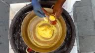 paila ice cream copper ice cream natural