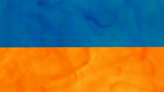 Farbe Flagge der Ukraine