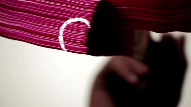 paint ink love heart