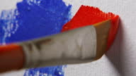 Paintbrush, Red Color