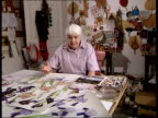 Elizabeth Blackadder made Dame of British Empire Dame Elizabeth Blackadder interviewed SOT I paint a lot of flowers in watercolour because I like...