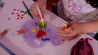 painting with tempera