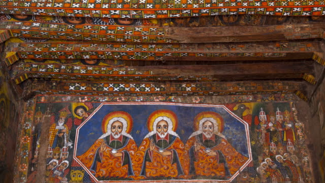 Paintings in Debre monastery