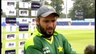 further allegations Shahid Afridi interview SOT