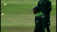 Pakistan squad training at Somerset ENGLAND Somerset Taunton Somerset County Cricket Ground EXT Pakistan cricket squad arrive at cricket ground off...