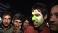 Pakistani cricket fans in Islamabad mourn the loss of their team to traditional rivals India in the World Cup Kalisz Poland
