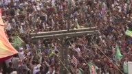 Pakistan's former Prime Minister Nawaz Sharif continues a slow defiant procession down the ancient Grand Trunk Road inching closer to his eastern...