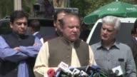 Pakistan's prime minister Nawaz Sharif appears before an anticorruption investigation commission in an ongoing case that has gripped Pakistan and...