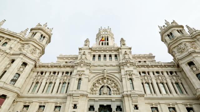 Palacio de Comunicaciones at Plaza Cibeles, Madrid, Spain
