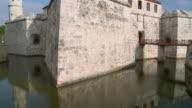 WS TU Palacio de los Capitanes Generales with reflection in moat / Havana, Cuba