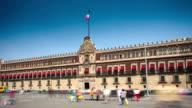 TIME LAPSE: Palacio Nacional, Mexico City