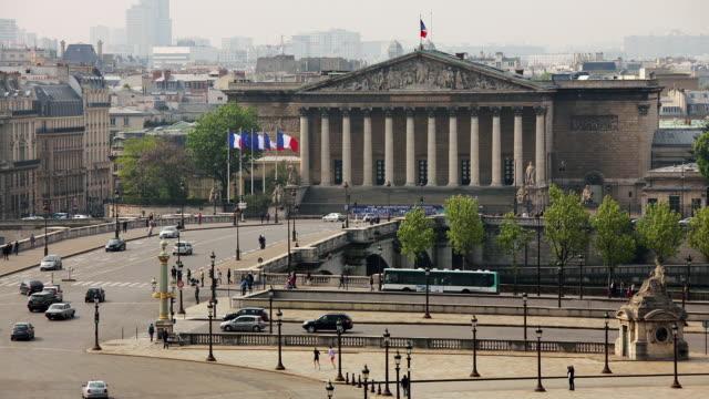 T/L WS HA Palais Bourbon and Place de la Concorde / Paris, Ile de France, France